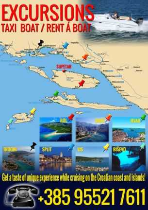 Excursions map brochure